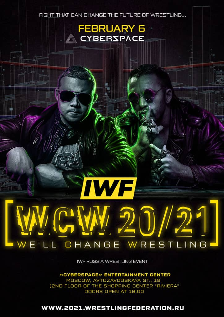 IWF «We will change wrestling 20/21»